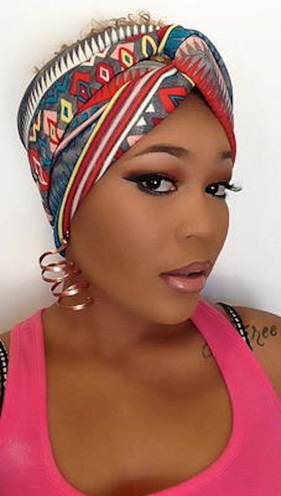 The Best African Print Turban – Jersey Hair Band – Turban Headband Pictures