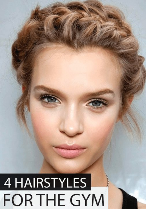 The Best Don T Sweat It 4 Easy Hairstyles For The Gym Ultimate Updos Gym Hairstyles Braids For Pictures