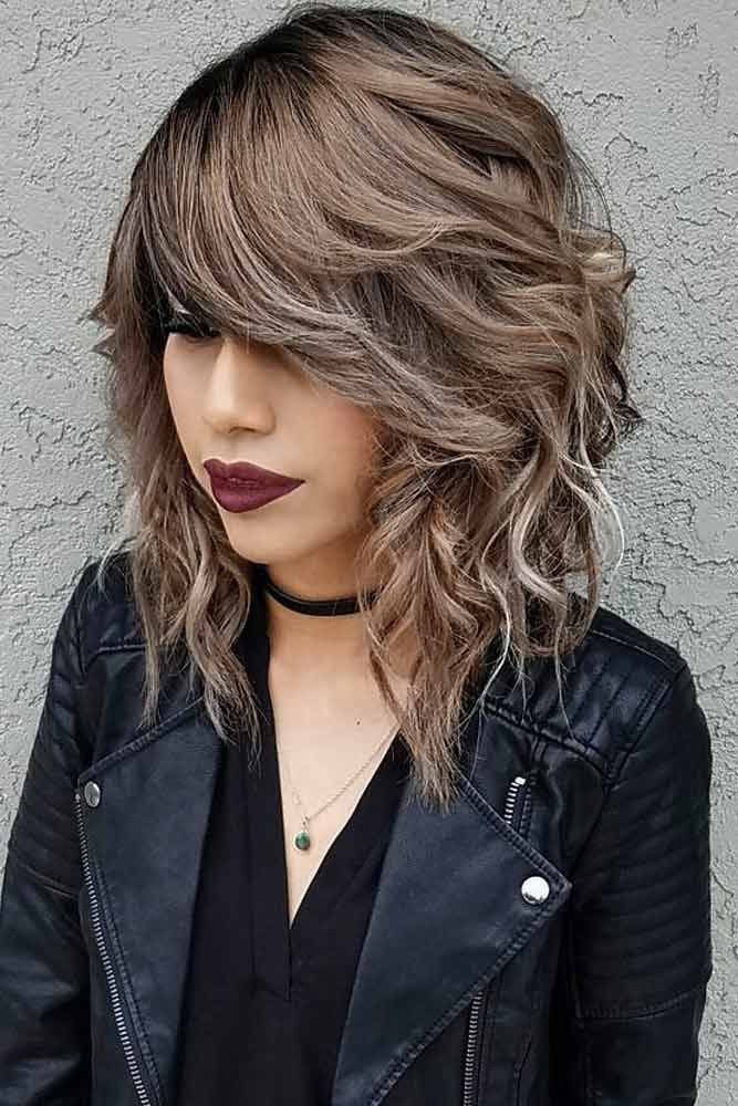 The Best Bekham Hairstyle Bangs Hairstyles Ideas Medium Hair Pictures