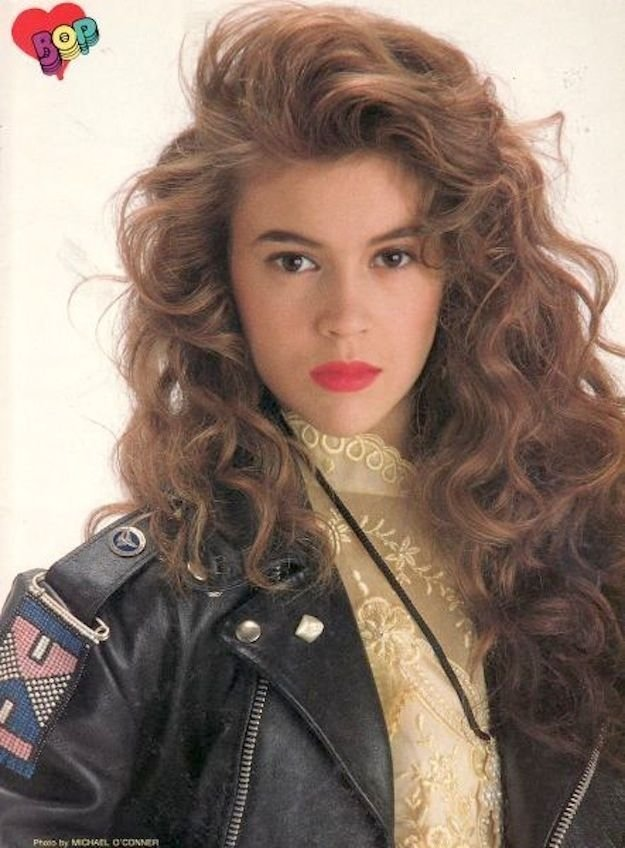 The Best 90S Hairstyle 90 S Pinterest Alyssa Milano Hairstyles And Style 60 70 80 90 S Pictures