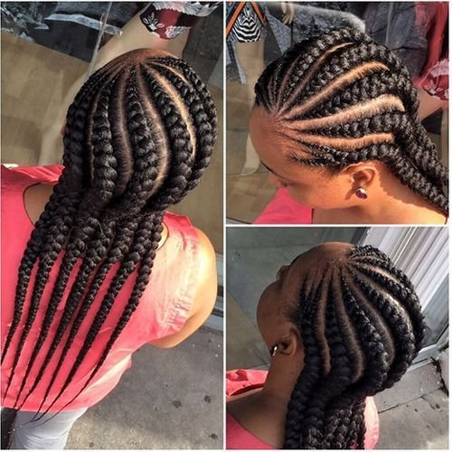 The Best African American Cornrow Hairstyles 12 African American Pictures