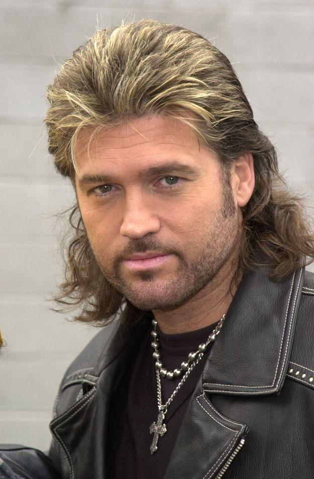 The Best The Long And Sad History Of Billy Ray Cyrus Hair Laughs Pictures