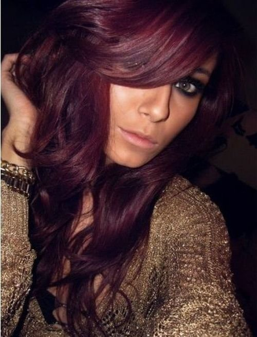 The Best Burgundy Brown Hair Color Pictures Hair In 2019 Hair Color Purple Burgundy Brown Hair Hair Pictures