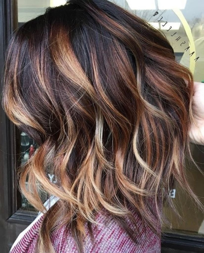 The Best Dark Brown Hair With Caramel Balayage 3D Hair Color Best Pictures