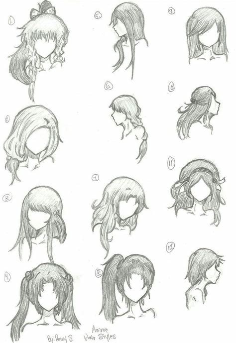 The Best Some Hair Styles Too Draw Art In 2019 Pinterest Pictures