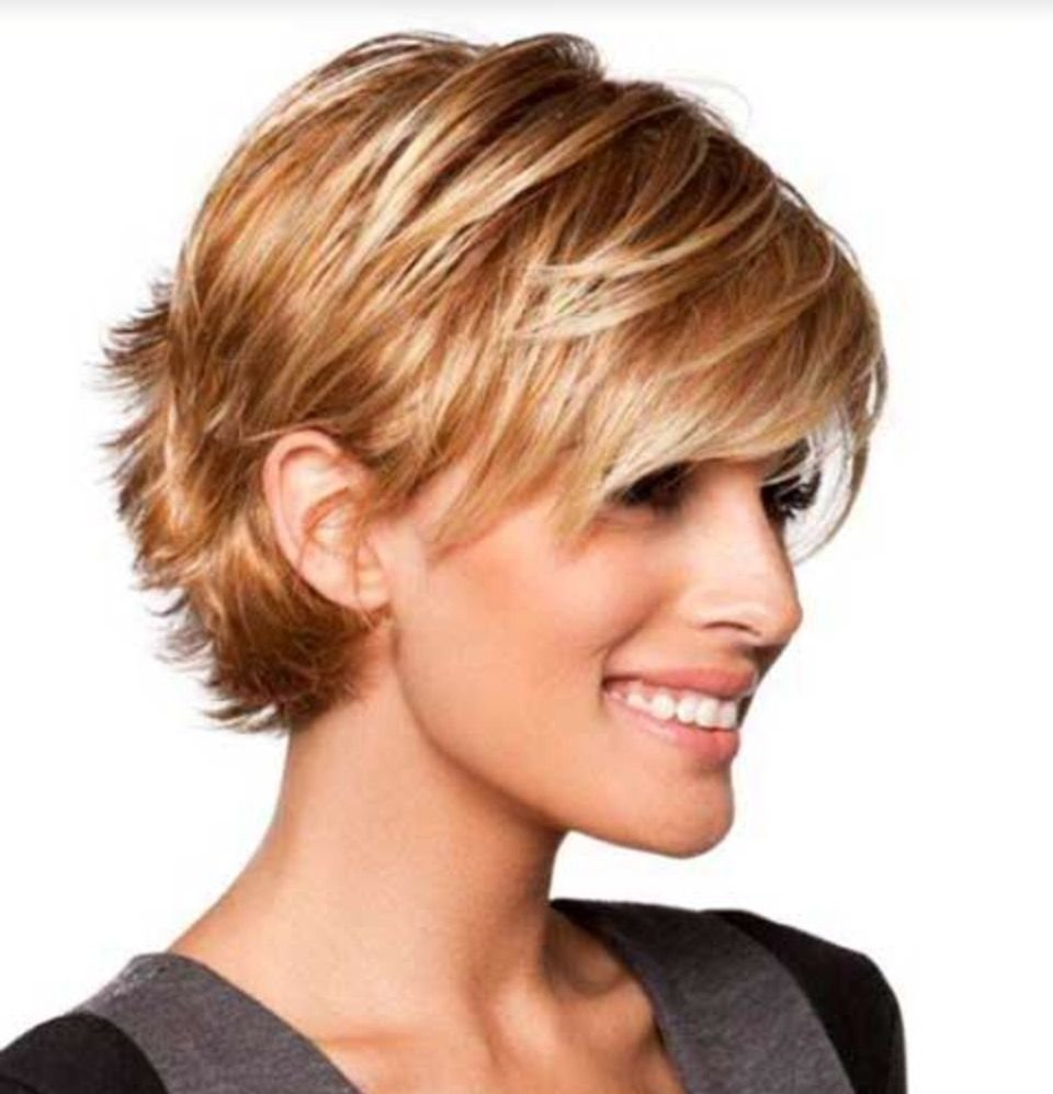 The Best Long Layered Pixie Tucked Behind The Ears Sassy Cuts In Pictures