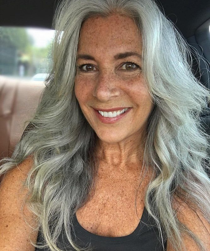 The Best 3 Ways To Wear Gray Hair Over 40 Hair Hair Styles Pictures