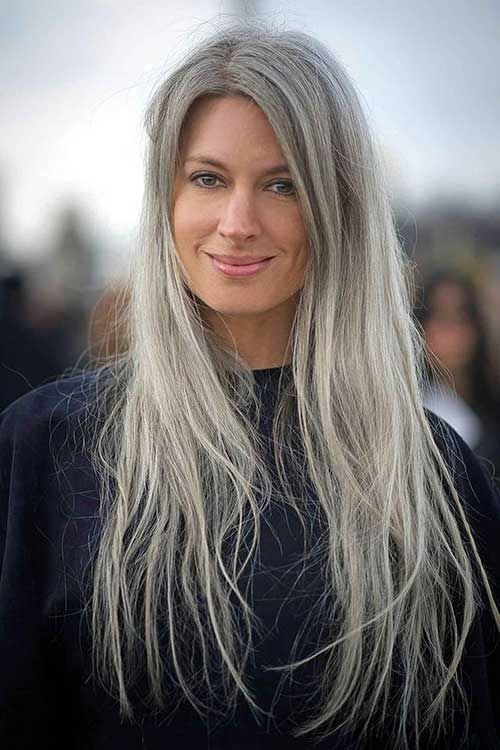 The Best Long Hair Styles For Older Women Beautiful Advanced Age Pictures