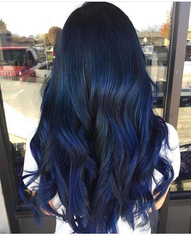 The Best Midnight Blue Fckinghair By Conniecouture Hair Hair Pictures