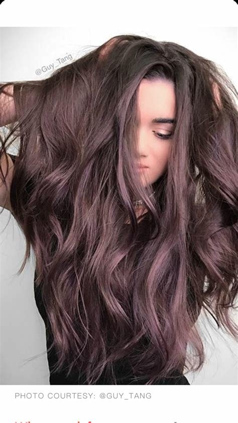 The Best Brown Amethyst Hair Color Guy Tang Hair In 2019 Hair Hair Color Winter Hairstyles Pictures