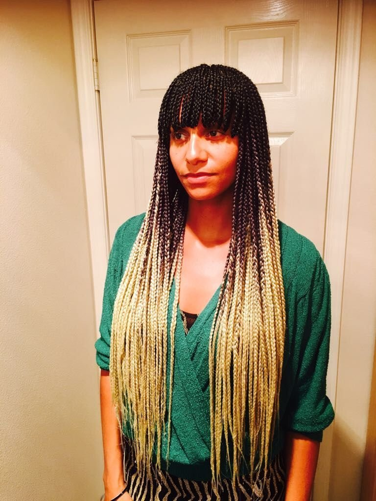 The Best Braids With Bangs Braidswithbangs African Braids Box Pictures