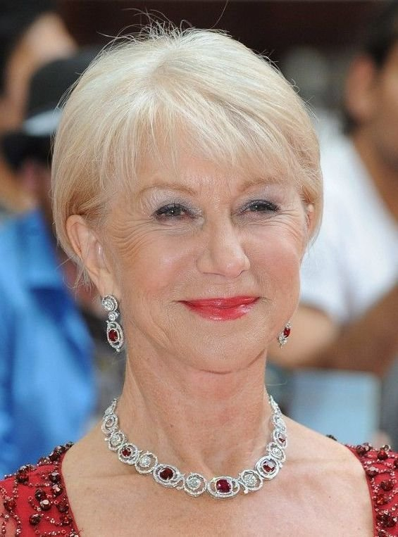 The Best Hairstyles For Women Over 60 With Fine Hair Health And Pictures