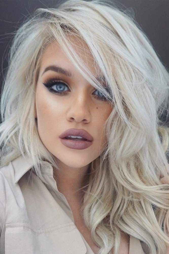 The Best 50 Platinum Blonde Hair Shades And Highlights For 2019 Pictures