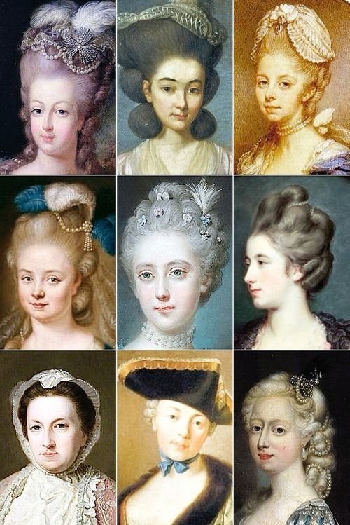 The Best 18Th Century Woman's Hairstyles Bottom Right Corner 5 Pictures Original 1024 x 768
