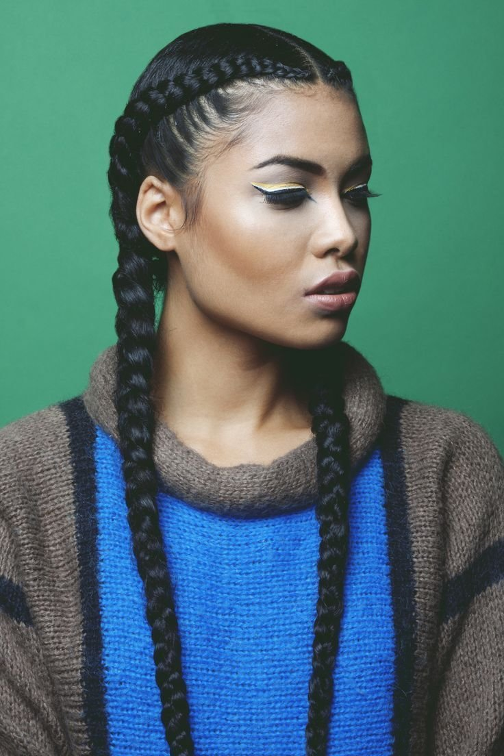 The Best 2 Cornrow Braids Google Search Hair Hair Styles Pictures