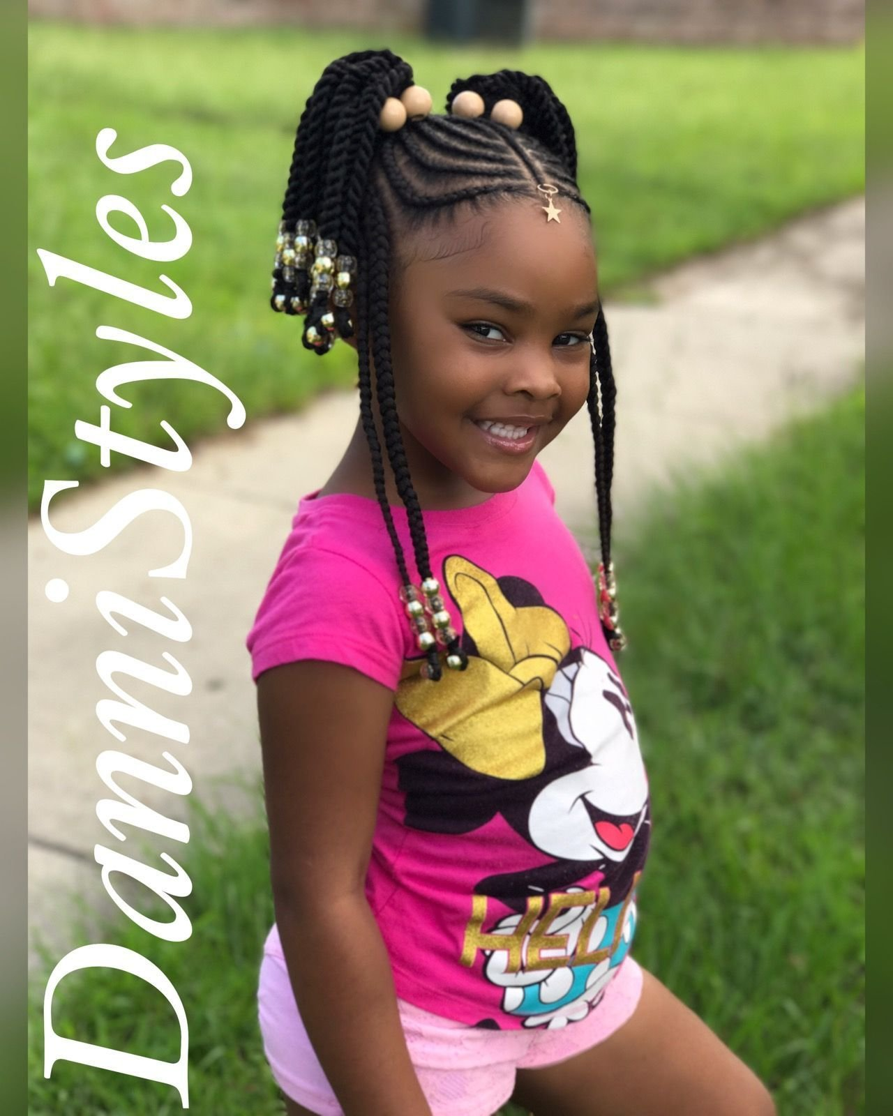 The Best Tribal Braids For Kids Dannistyles Dannistyles In 2019 Pictures