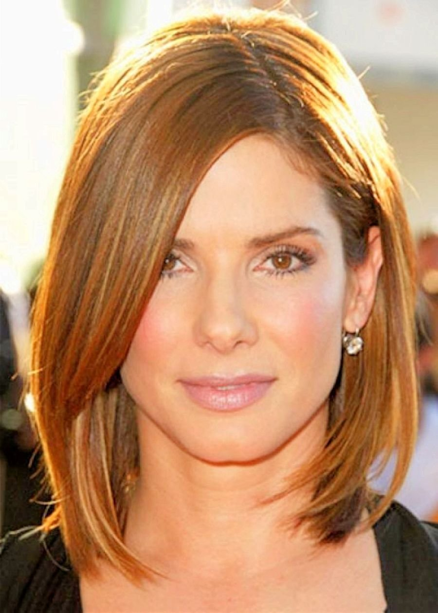 The Best Image Result For Hairstyles For Thin Fine Hair Women Medium Length Hair Sandra Bullock Hair Pictures