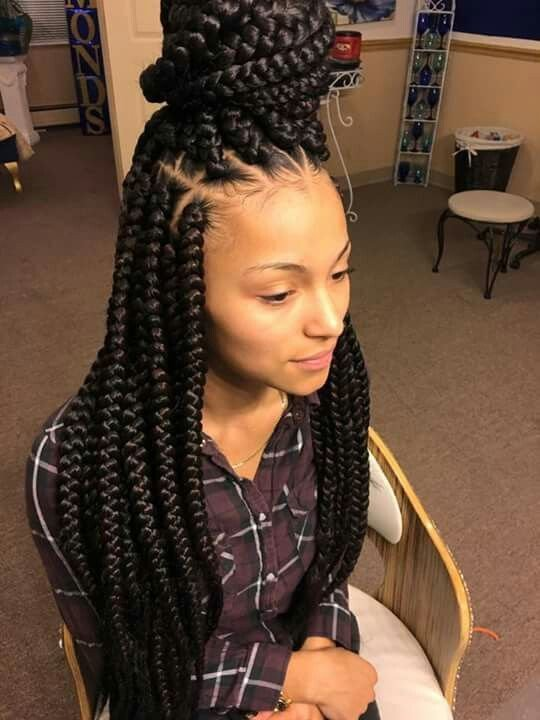 The Best Braids Hair In 2019 Box Braids Styling Hair Braided Pictures