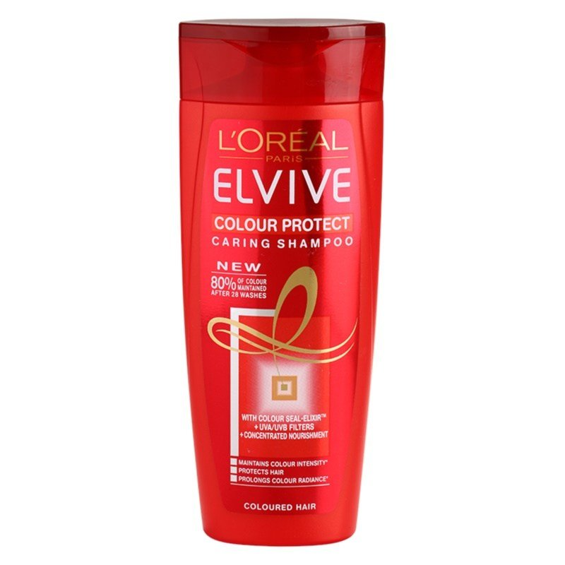 The Best L'oréal Paris Elvive Colour Protect Shampoo For Colored Pictures