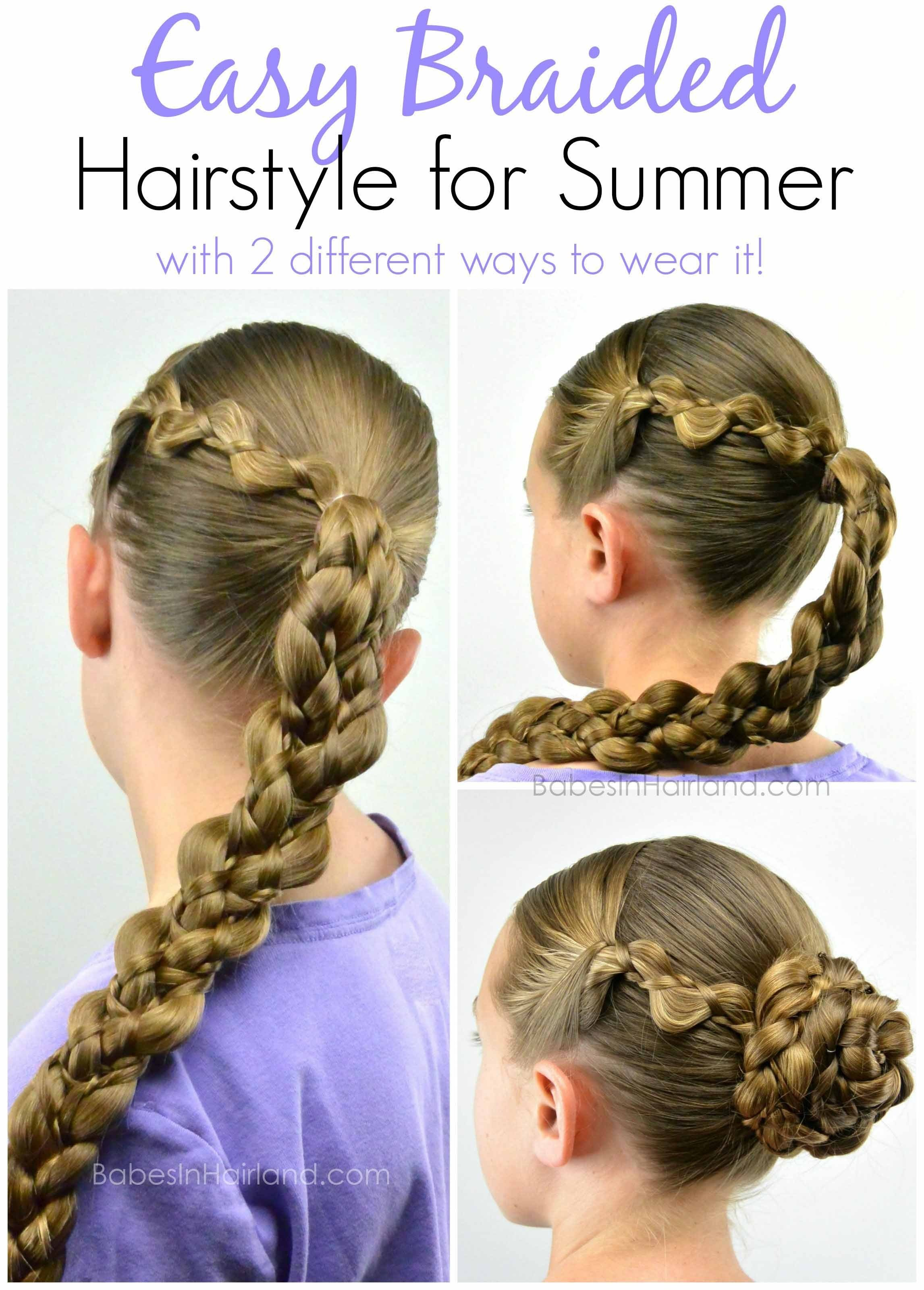 The Best Easy Braided Hairstyle For Summer B*B*S In Hairland Pictures