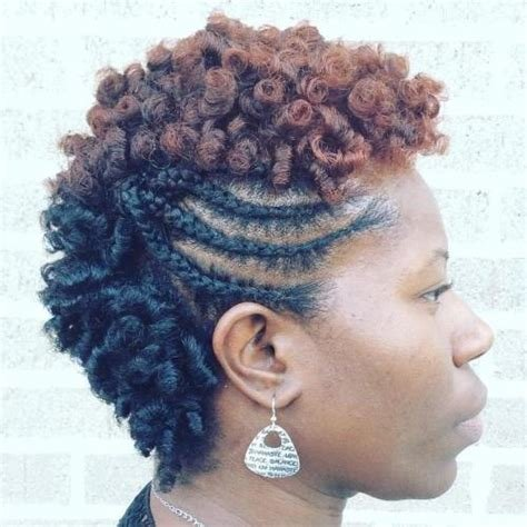 The Best 75 Most Inspiring Natural Hairstyles For Short Hair In 2019 Pictures