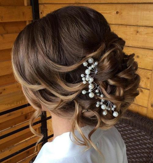 The Best 40 Chic Wedding Hair Updos For Elegant Brides Pictures