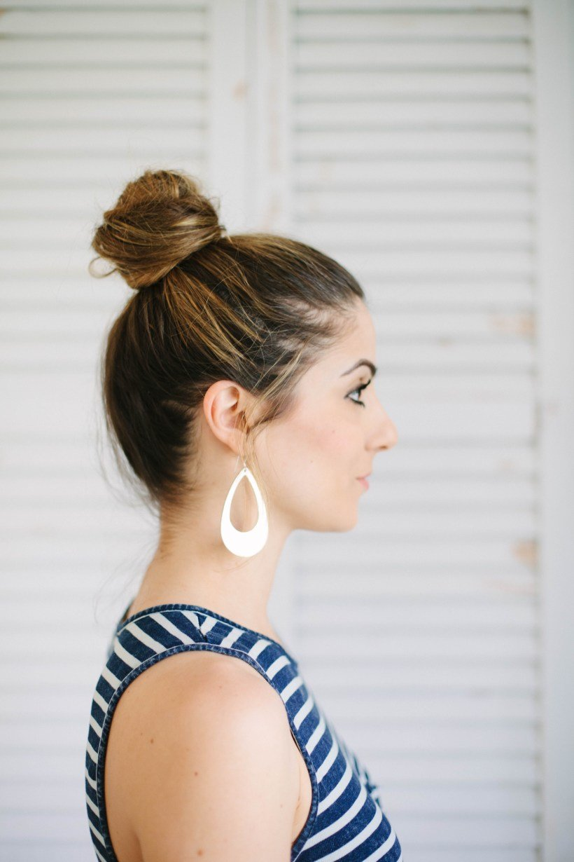 The Best Beauty 3 Easy Hairstyles For Moms Lauren Mcbride Pictures