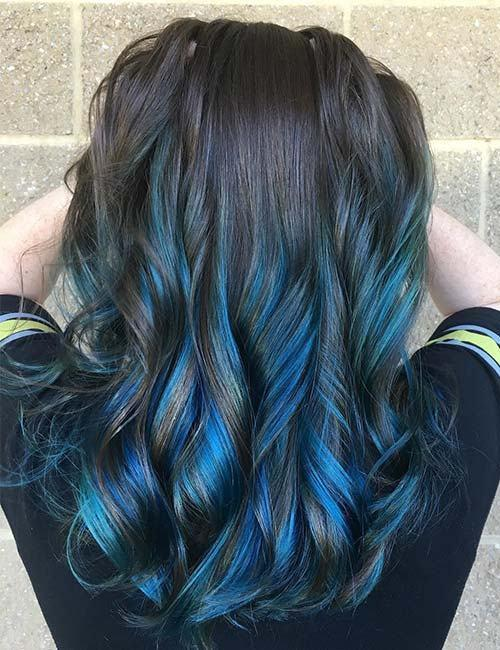 The Best Blue Lowlights In Blonde Hair Decoratingspecial Com Pictures