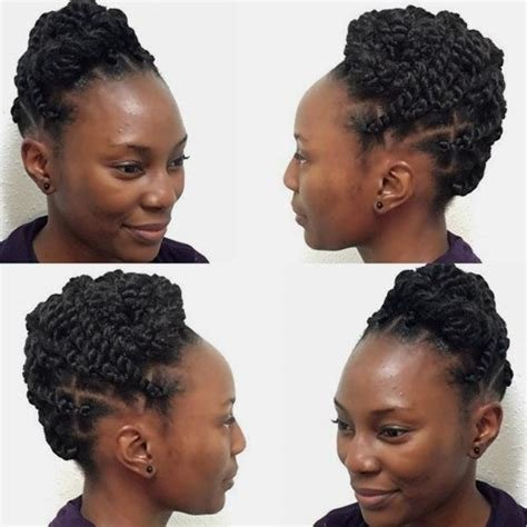 The Best 60 Easy And Showy Protective Hairstyles For Natural Hair Pictures
