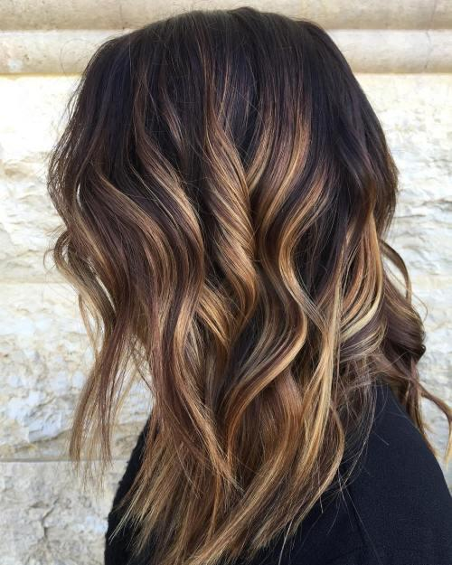 The Best 60 Looks With Caramel Highlights On Brown And Dark Brown Hair Pictures