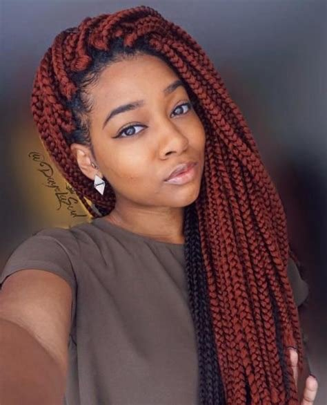 The Best 40 Best Big Box Braids Hairstyles Jumbo Box Braids Pictures