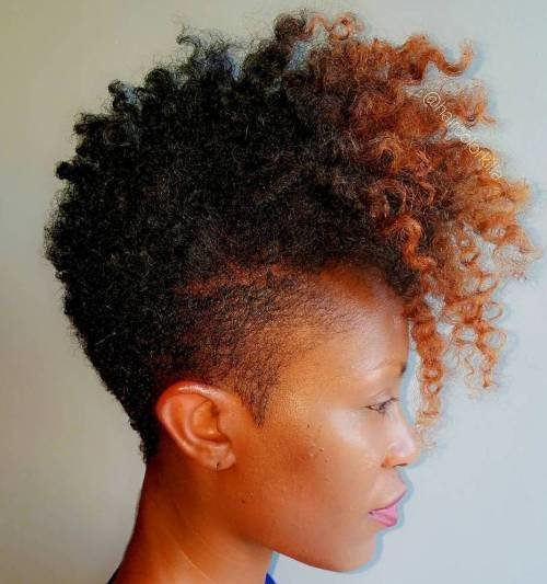 The Best 40 Cute Tapered Natural Hairstyles For Afro Hair Pictures