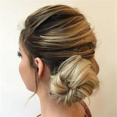 The Best Best 40 Low Bun Updo Hairstyles Ideas On Therighthairstyles Pictures