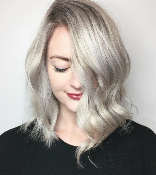 The Best 60 Inspiring Long Bob Hairstyles And Lob Haircuts 2017 Pictures