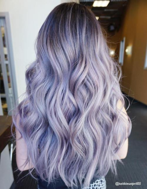 The Best The Prettiest Pastel Purple Hair Ideas Pictures