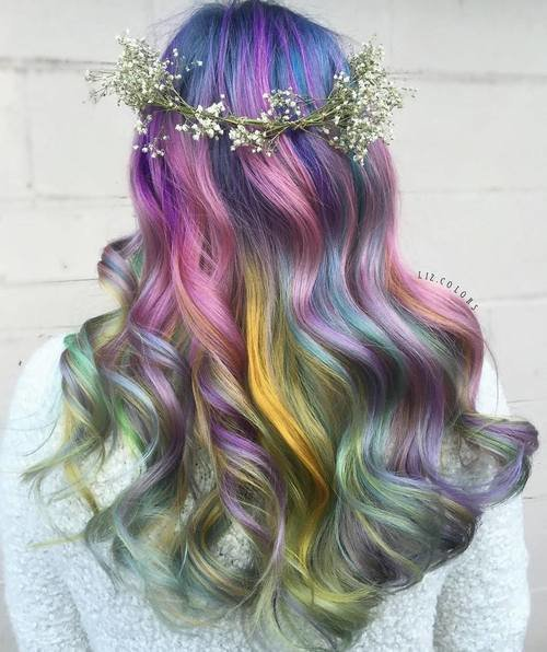 The Best 20 Gorgeous Mermaid Hair Ideas From Vibrant To Pastel Pictures