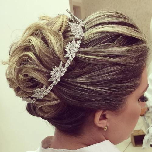 The Best Top 20 Wedding Hairstyles For Medium Hair Pictures