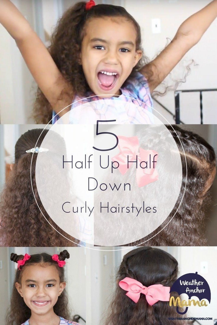 The Best 5 Easy Half Up Half Down Curly Hairstyles Weather Anchor Pictures