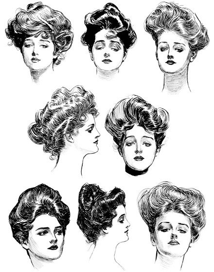 The Best Hairstyles From The Turn Of The Last Century Matthew S Pictures
