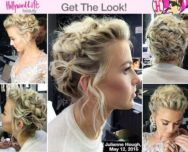 The Best Julianne Hough's Braids On 'Dwts' — Get The Look Pictures