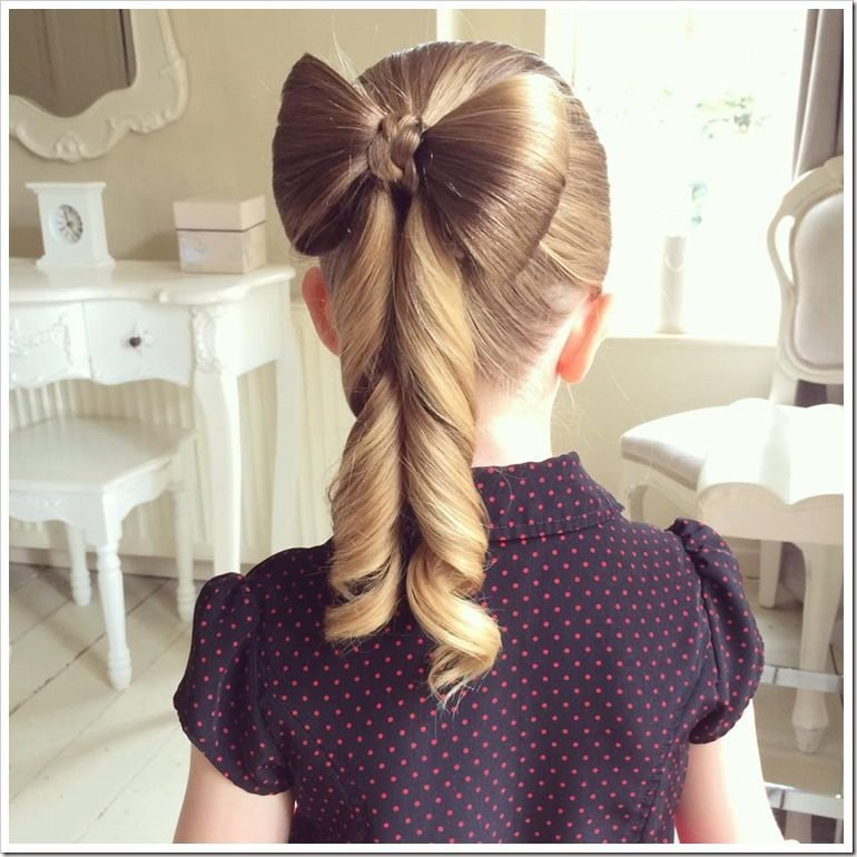 The Best 20 Easy Christmas Hairstyles For Little Girls Pictures