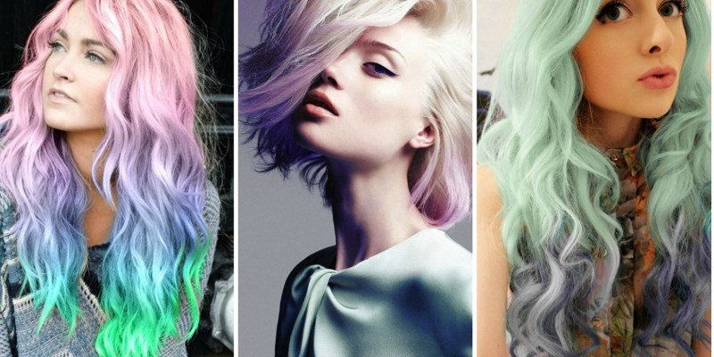 The Best Fake Pastel Dyed Hair In Four Easy Steps Hair Beauty Pictures