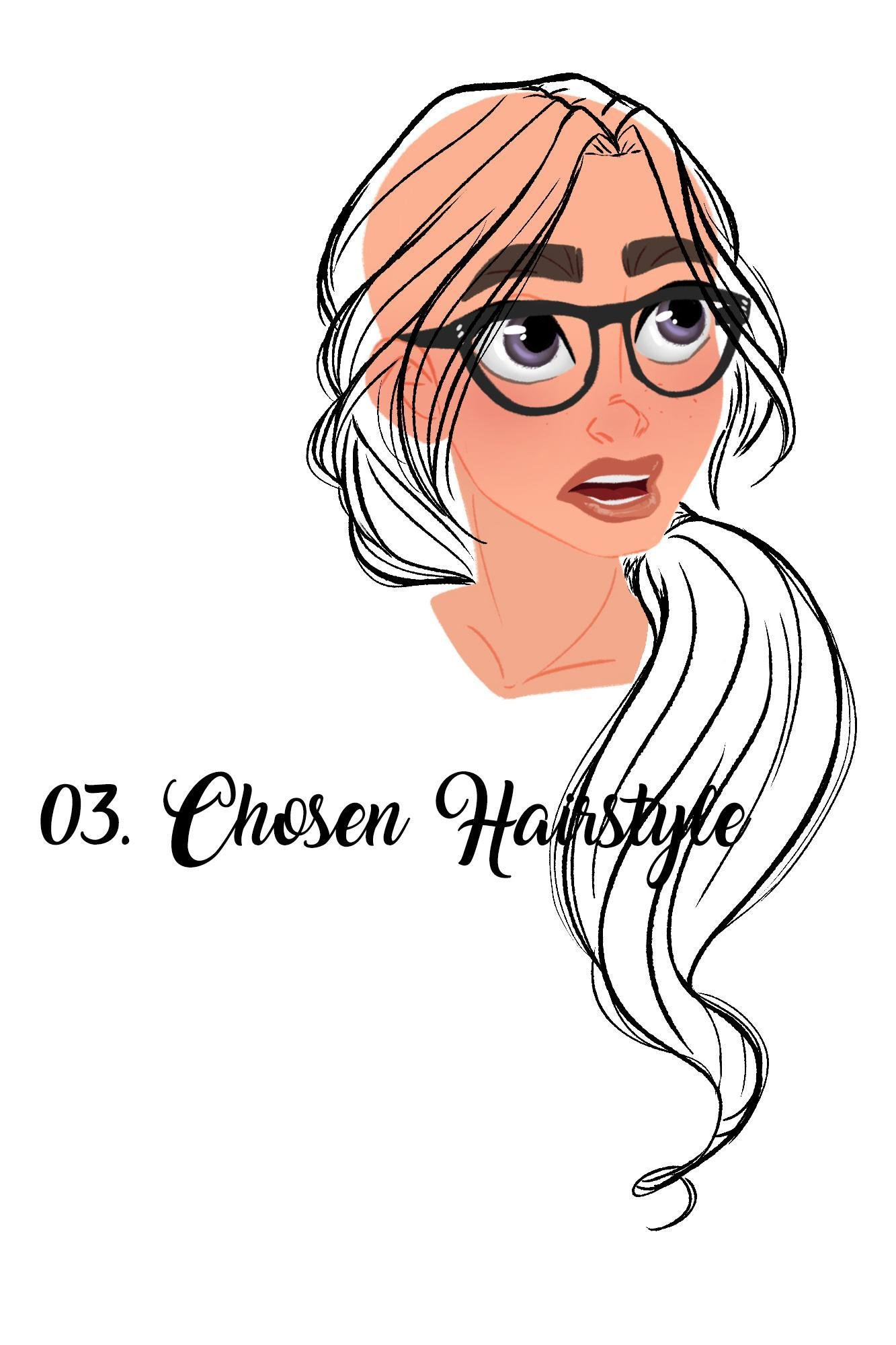 The Best Hairstyles 101 Draw And Colour Hair For Character Design Pictures