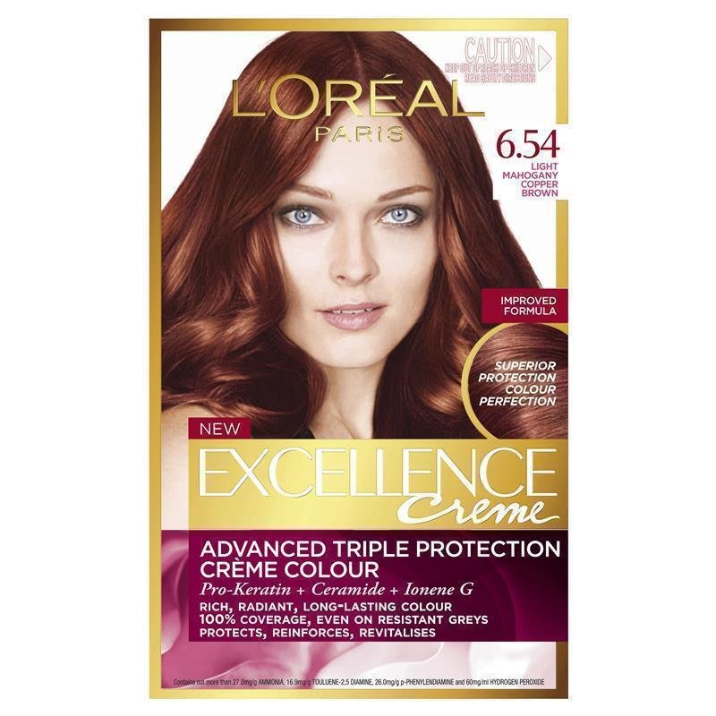 The Best Buy L Oreal Excellence Creme 6 54 Light Mahogany Copper Pictures