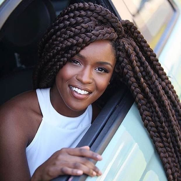 The Best 41 Best Jumbo Box Braids Hairstyles Stayglam Pictures