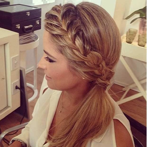 The Best 45 Elegant Ponytail Hairstyles For Special Occasions Stayglam Pictures