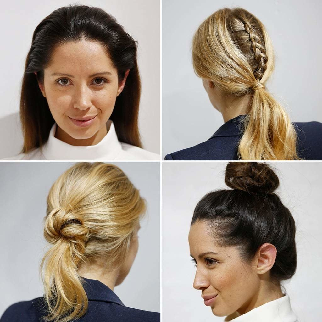 The Best Quick Hairstyles For Work Popsugar Beauty Australia Pictures