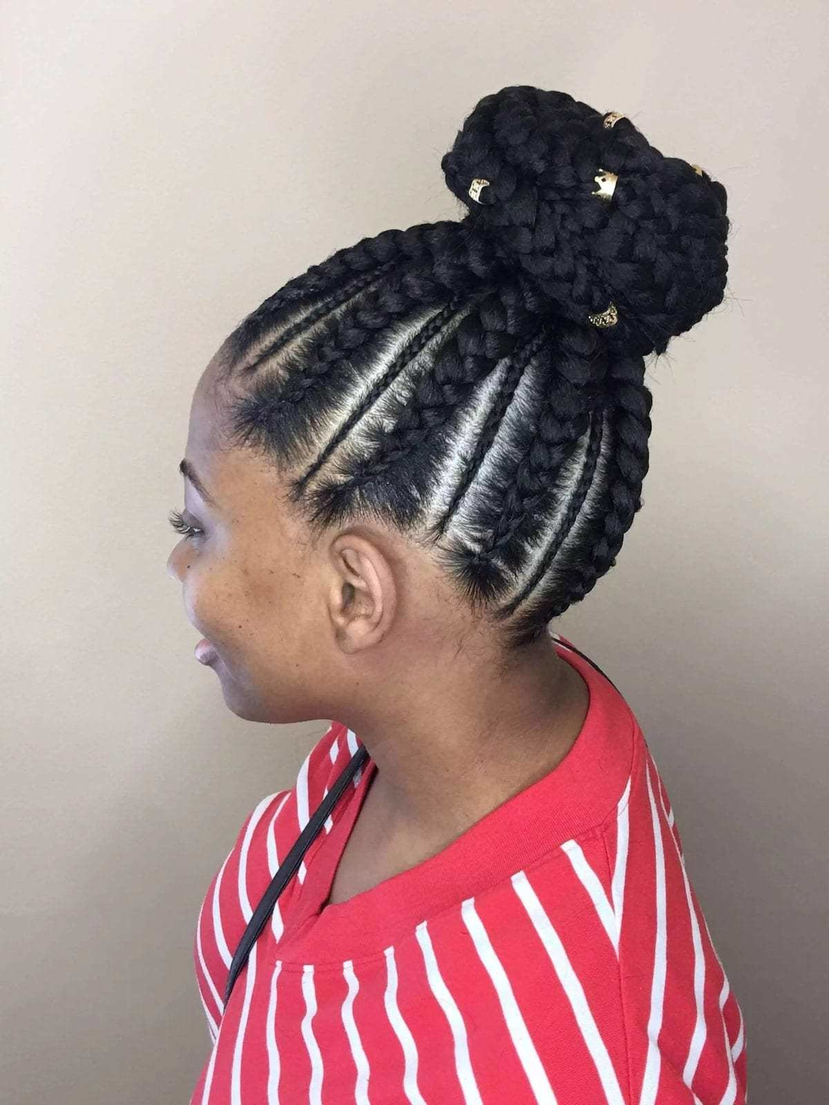 The Best 20 Cute African Cornrow Braid Hairstyles With An Updo Tuko Pictures