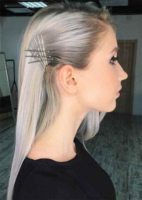 The Best Bobby Pin Hairstyles For Long Hair Hairstyles For Long Hair Pictures