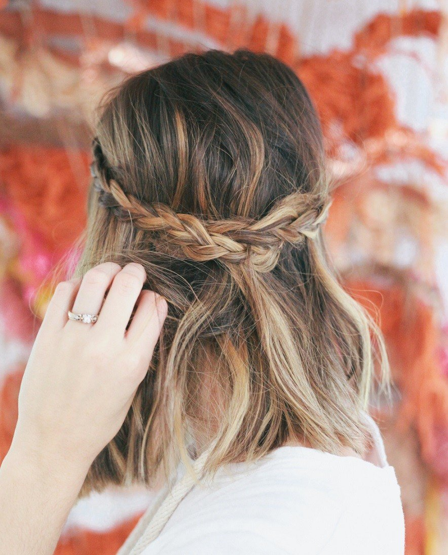 The Best 30 Swanky Braided Hairstyles To Do On Short Hair Pictures